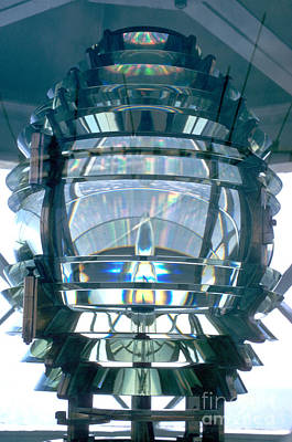 Of Lighthouses Photograph - Fresnel Lens by Jerry McElroy