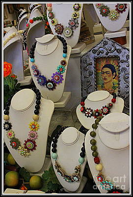 Frieda Kahlo And Jewelry She Inspired Original by Dora Sofia Caputo Photographic Art and Design
