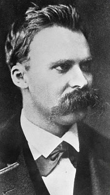 Intellect Photograph - Friedrich Wilhelm Nietzsche by French Photographer