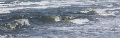 Nature Photograph - Frisco Waves by Cathy Lindsey