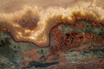 Nature Abstract Mixed Media - From Fire And Stone by Leland D Howard