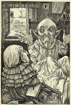 Bizarre Photograph - From Fit The Third: The Baker's Tale. by British Library