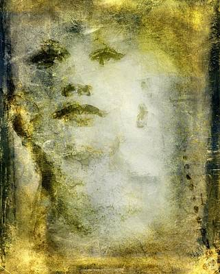Woman Head Digital Art - From Nowhere To Now Here by Gun Legler