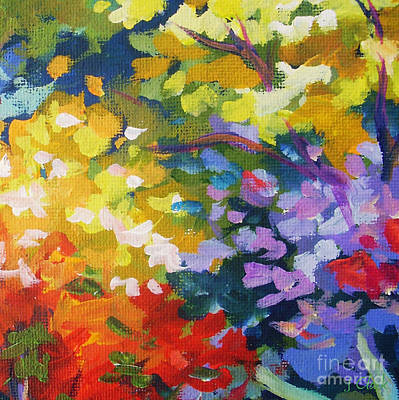 Acrylics Painting - From The Garden by John Clark