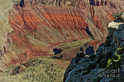 From Yaki Point 5 Grand Canyon Print by Bob and Nadine Johnston