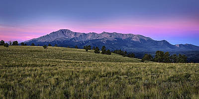 Front Range First Light Print by Thomas Zimmerman