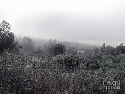 Frost On The Field Print by Linda Marcille