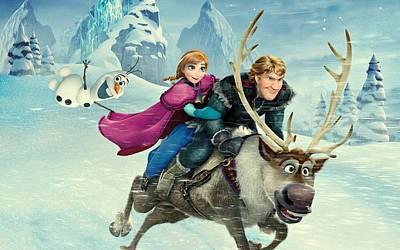 Frozen 256 Print by Movie Poster Prints
