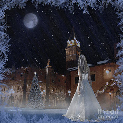 Elisabetta Artusi Digital Art - Frozen by Betta Artusi