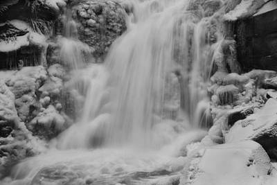 Crystal Photograph - Frozen Calamity by Mark Kiver