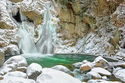 Bash Bish Falls Photograph - Frozen Emerald by Bill Wakeley