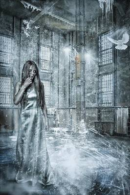 Alcatraz Photograph - Frozen Hope by Erik Brede