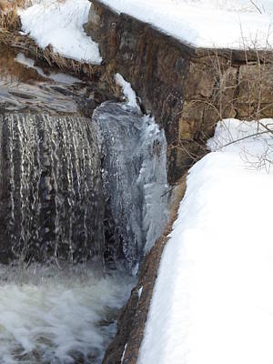 Photograph - Frozen Over With Ice by Jenna Mengersen