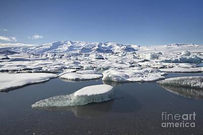 Iceberg Photograph - Frozen Paradise by Evelina Kremsdorf