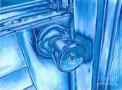 Frozen Shut Print by Brian Mako