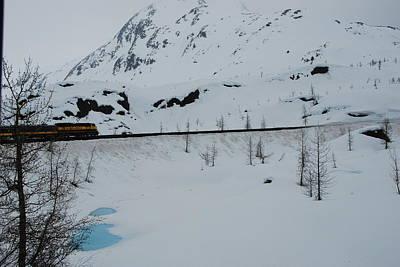Frozen Train Ride Print by Michael Gooch