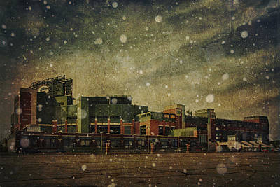 Frozen Tundra Part II - Lambeau Field Print by Joel Witmeyer