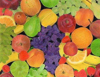 Fruit Print by Bav Patel