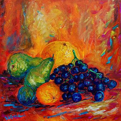 Fruit Original by Bozena Zajiczek-Panus