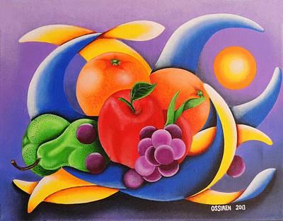 Fruit Print by Oswaldo Cevallos