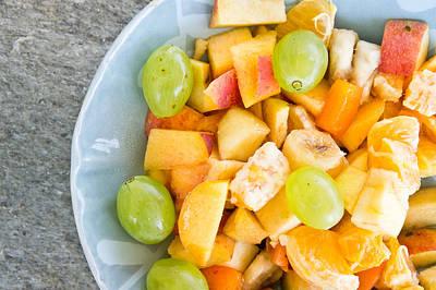 Fruit Salad Print by Tom Gowanlock