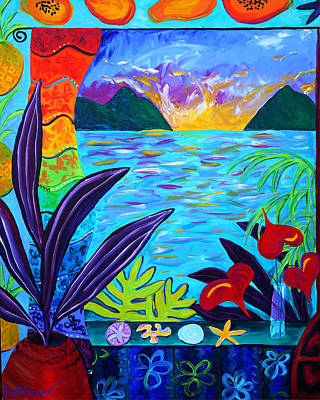 Fruit Salsa Sunrise Original by Beth Cooper