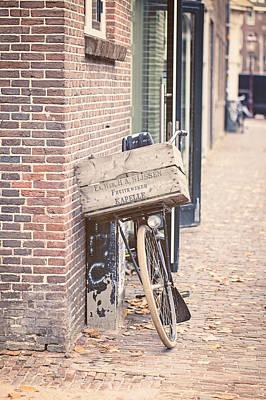 Fruitkweker - Amsterdam Bicycle Photography Print by Melanie Alexandra Price