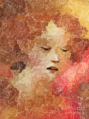 Abstract Realism Digital Art - Fruitopia - Creative Portraits Series by Aimelle