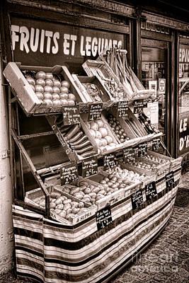 Fruits Et Legumes Print by Olivier Le Queinec