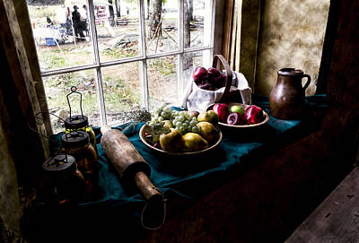 Baskets Photograph - Fruits Of Harvest by Peter Chilelli