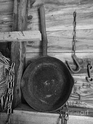 Wooden Ware Photograph - Frying Pan by D Hackett