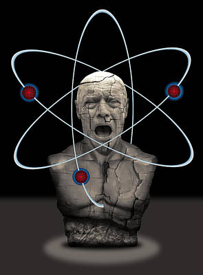 Pandoras Box Digital Art - Fukushima Man by Daniel Hagerman