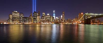 New York City Skyline Photograph - Full City View by Shane Psaltis