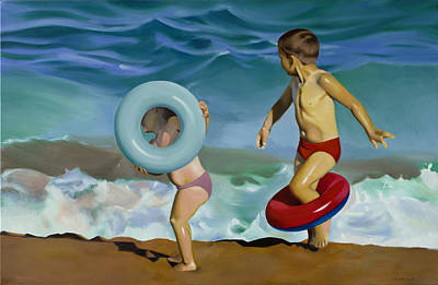 Inflatable Painting - Full Of Summer by Joan Longas