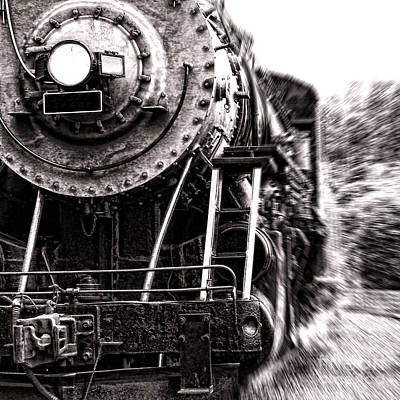 Steam Locomotive Photograph - Full Steam by Olivier Le Queinec