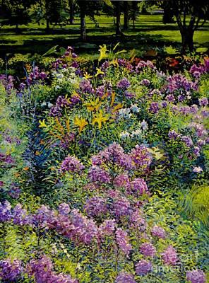 Bukowski Painting - Full Sun Full Garden by William Bukowski