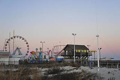 Coaster Photograph - Fun At The Shore Seaside Park New Jersey by Terry DeLuco
