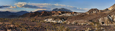Funeral Mountains And Keane Wonder Mine Print by Gregory Scott