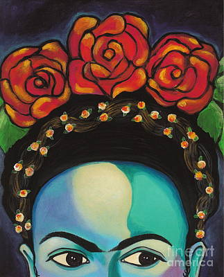 Funky Frida Print by Carla Bank