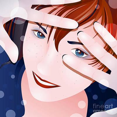 Digital Art - Funny II by Sandra Hoefer