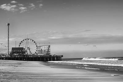 Funtown Pier Seaside Heights New Jersey  Print by Terry DeLuco