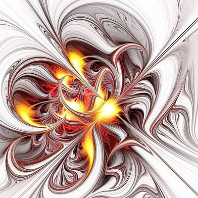 Anger Mixed Media - Fury by Anastasiya Malakhova