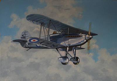 Raf Painting - Fury II Raf by Murray McLeod