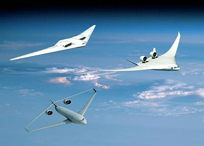 Airliners Photograph - Future Green Aircraft by Nasa
