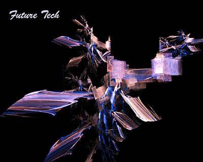 Creature Digital Art - Future Tech by R Thomas Brass