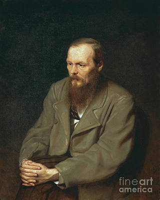 Realism Photograph - Fyodor Dostoyevsky Russian Author by Photo Researchers