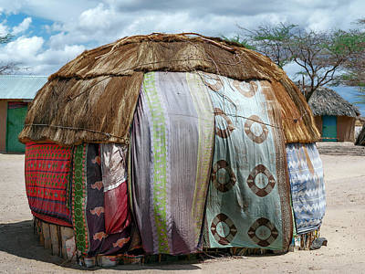 African Huts Photograph - Gabra Hut by Babak Tafreshi