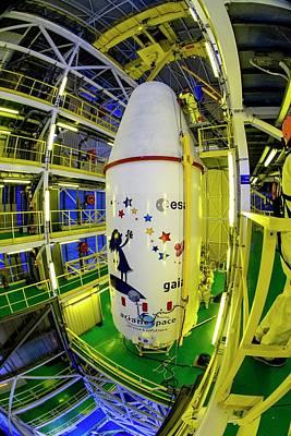Hangar Photograph - Gaia Space Probe Launcher by M Pedoussaut/european Space Agency