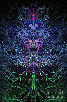Tree Spirit Photograph - Gaia by Tim Gainey