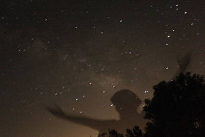 Disclosure Photograph - Galactic Celebration by Carolina Liechtenstein